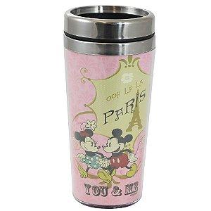 Copo para Viagem 450ml Mickey - ooh La La Paris