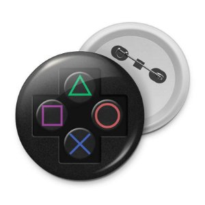 Botton Playstation