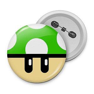 Botton Cogumelo Verde