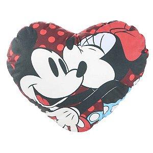 Almofada Coração Disney - Mickey e Minnie
