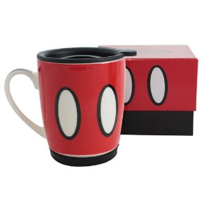 Caneca com Tampa 350ml Disney - Mickey Mouse