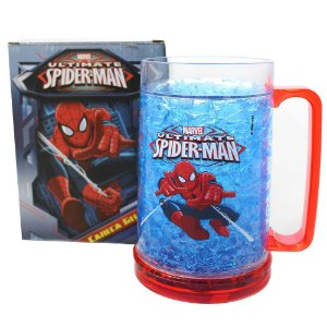 Caneco Congelável 400ml Marvel - Spiderman