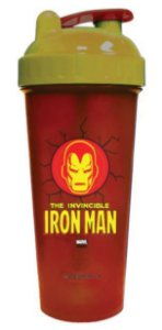 Copo Shaker 600ml Marvel - Iron Man