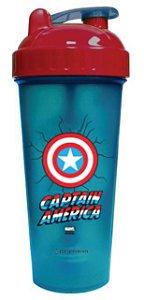 Copo Shaker 600ml Marvel - Capitão América