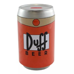 Cofre Lata Simpsons - Duff Beer