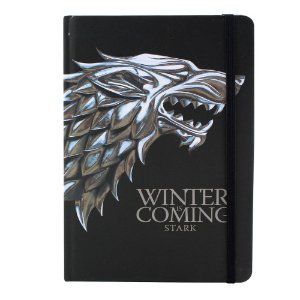 Caderno de Anotações Game of Thrones - Stark