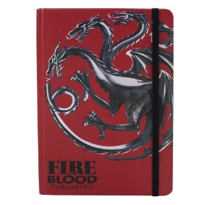 Caderno de Anotações Game of Thrones - Targaryen