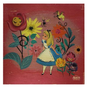 Quadro MDA Disney - Alice Floral