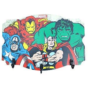 Pendurador de 3 ganchos Marvel - Comics