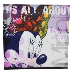 Quadro Canvas Disney - Minnie Charme