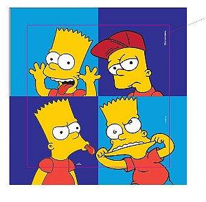Quadro Canvas Simpsons - Bart Caretas