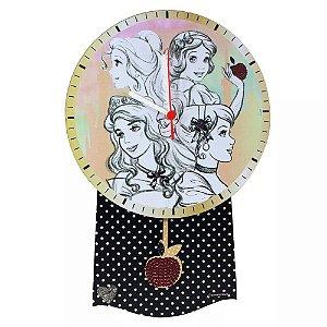Relógio de Pêndulo Princesas