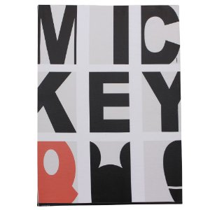 Quadro Canvas Disney - Mickey Tipografia