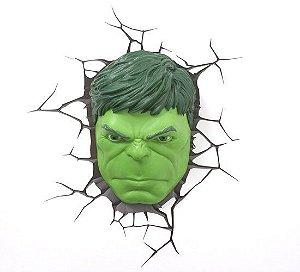 Luminária 3D Light FX Marvel - Hulk