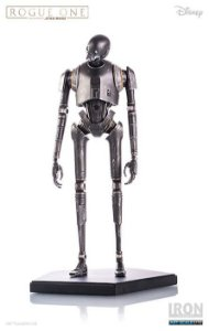 K-2SO Star Wars Rogue One 1/10 Iron Studios Exclusivo Concept Store