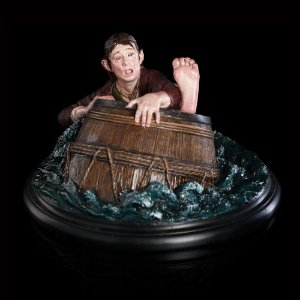 The Hobbit Bilbo Baggins Barrel Rider 1/6 Weta Workshop