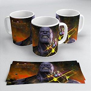 Caneca Vingadores - Guerra Infinita Thanos