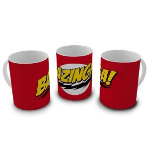 Caneca The Big Bang Theory - Bazinga!