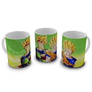 Caneca Dragon Ball - Super Saiyajins