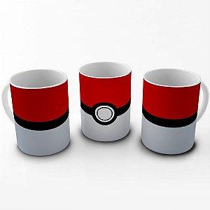 Caneca Pokemon - Pokebola