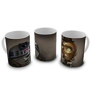 Caneca Star Wars - Droids