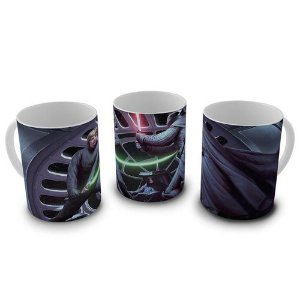 Caneca Star Wars - Darth Vader e Luke Confronto