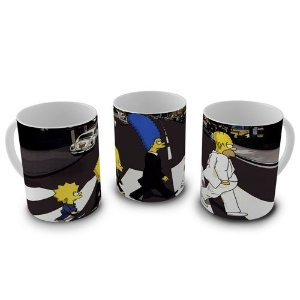 Caneca Simpsons - Beatles