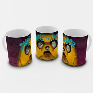Caneca Hora de Aventura - Jake the Dog