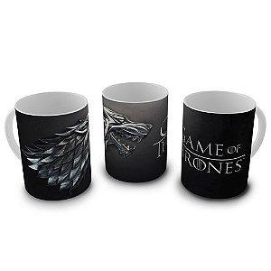 Caneca Game of Thrones - Stark Brasão