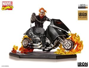 Motoqueiro Fantasma ( Ghost Rider) Iron Studios 1/10 - Exclusivo Ccxp18