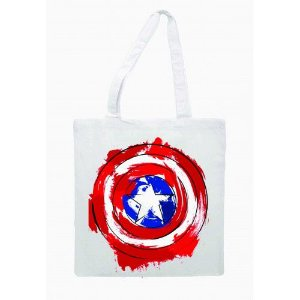Ecobag Capitão América - Escudo