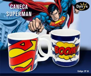 Caneca 300ml Davys - Superman