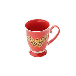 Caneca 300ml Rococo Mulher Maravilha - Vermelha