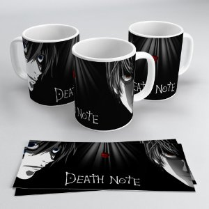 Caneca 300ml Death Note - Light & L