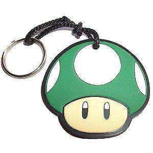 Chaveiro Super Mario - Cogumelo Verde