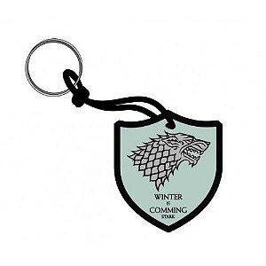 Chaveiro Escudo Game of Thrones - Stark