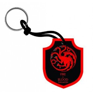 Chaveiro Escudo Game of Thrones - Targaryen