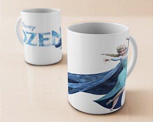 Caneca 300ml Frozen - Elsa