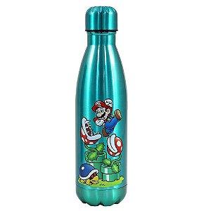 Garrafa Térmica Cantil 500ml Super Mario