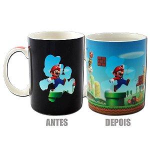 Caneca Mágica Reativa Super Mario - Cenário