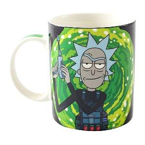 Caneca Mágica Reativa Rick & Morty