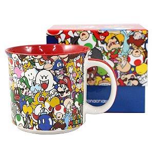 Caneca Tom 350ml Super Mario - Personagens