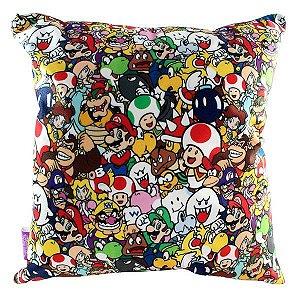 Almofada Super Mario - Personagens
