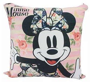 Almofada Disney - Minnie Flores