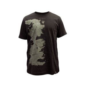Camisa Game of Thrones - Mapa de Westeros
