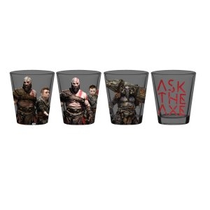 Kit Copos de Shots 50ml God of War
