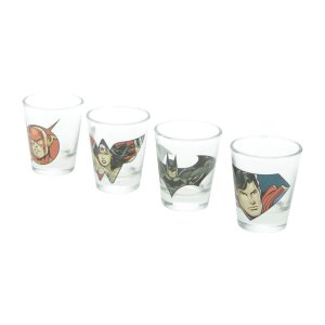 Kit Copos de Shots 50ml DC Comics - Personagens