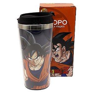 Copo para Viagem 450ml Dragon Ball Z - Goku