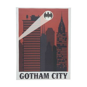 Quadro Canvas Batman - Gotham City