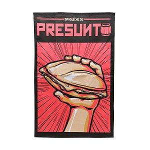 Pano de Prato Chaves - Sanduíche de Presunto